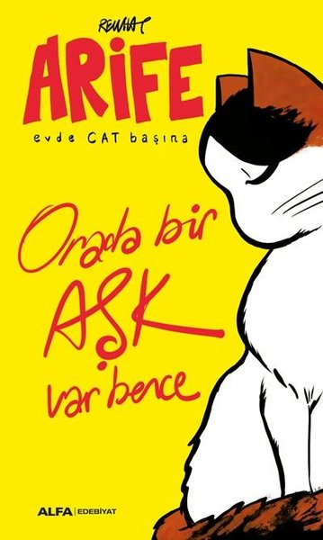 Orada Bir Aşk Var Bence-Arife Evde Cat Başına